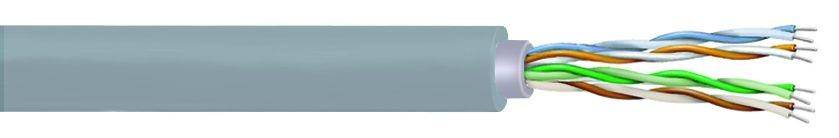 Кабель UTP 4 пары CAT.5E EtherSeal на катушке 305м PVC многожильный