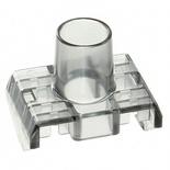 Прозрачная крышка для контактного блока гнезд SL-типа Cat.6, цвет: серый