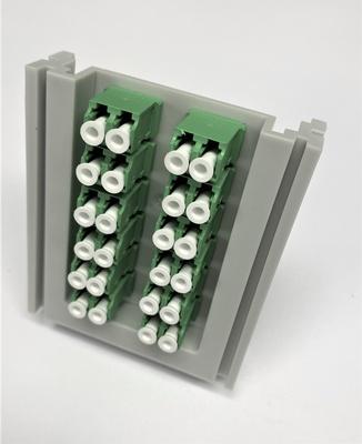 Комплект для герметизации кабельного ввода в бокс BUD c 24 адаптерами SC/APC 8°, цвет: зелёный