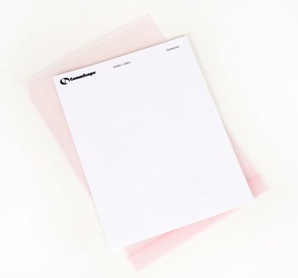 Этикетки для маркировки панелей GigaSPEED X10D® XL® M2000 and M3000 U/UTP Custom Label Kit 10 листов по 60 этикеток