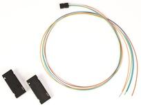 6 Fiber Breakout Kit, loose tube