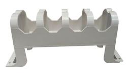 Настенный органайзер для системы 110Connect XC с монтажными ножками, цвет: ivory