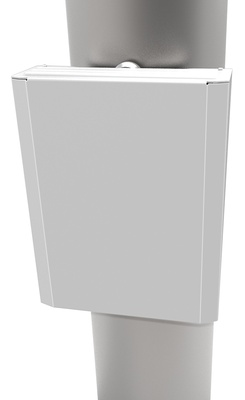 PoE Extender - 1-портовый 60Вт, комбинированный преобразователь среды передачи и питания, уличный, 48 Vdc с возможностью транзитной прокладки оптического кабеля