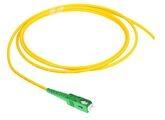 SC-APC полушнур, Тип волокна: OS2 G.652.D and G.657.A1, TeraSPEED®, Буфер: плотный riser, цвет разъёма: Зелёный, Длина м.: 2