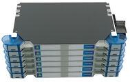 Шасси FACT™ NG4 с 12 поддонами, организация кабеля: left/right routing, поддержка до 24 адаптерных планок NG4 или 12 модулей NG4 MPO или 12 NG4 SC/LC или value added модулей, цвет: серый, высота: 6E=4.2RU