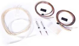 2 x 12 Fiber Breakout Kit, outside plant cable, gel blocking