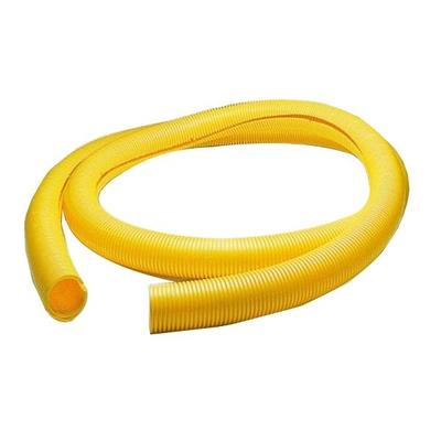 """FiberGuide® 2"""" Flex Tube, slotted, 125 ft length, yellow"""