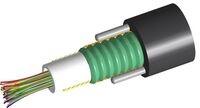Кабель внешней прокладки, Кол-во волокон: 24, Тип волокна:  G.652.D and G.657.A1 TeraSPEED®,  Конструкция: центральная трубка с гелем, бронирование: гофрированная сталь, 2 диэлектрических прутка Rigid RSM, изоляция: PE, диаметр: 11 мм, -40 - +70 град. С, цвет: чёрный
