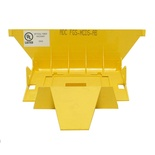 FiberGuide® крышка для Downspout  из 150х100 мм в 100x100, цвет: жёлтый