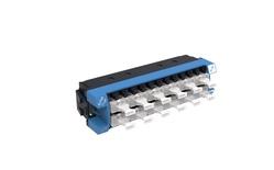 Адаптерная планка 360 G2 12хLC Duplex, iPatch Ready, SM TeraSPEED® шторки: нет, цвет: синий