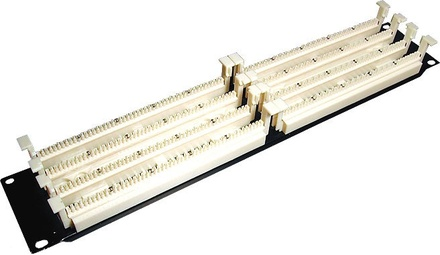 """Кроссовая панель 110ХС, 19"""", Количество пар: 200, Высота: 2RU"""