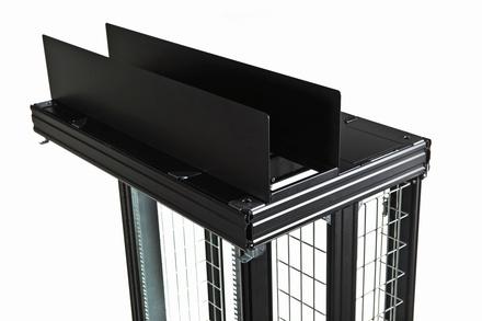 Потолочная кабельная полка для шкафа NETpodium