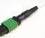 Разъём TeraSPEED® QWIK-FUSE MPO12/APC без штырьков для полевой установки на кабель диаметром до 3 мм