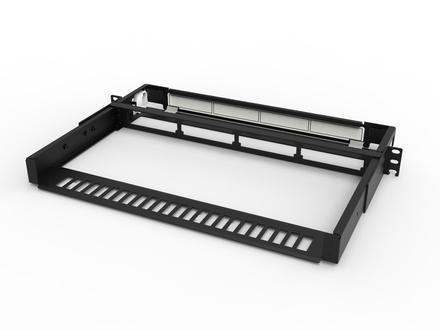 Коммутационная панель серии EPX фиксированная открытая до 4 модулей G2, до 48 LC Duplex, высота: 1RU