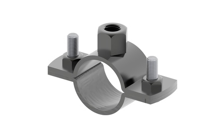 Комплект адаптеров FiberGuide® Pipe Clamp, уп.: 10