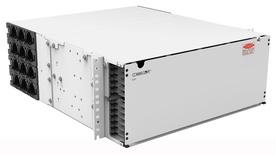 Выдвижная панель SYSTIMAX® EHD High Speed Migration. Высота: 4RU, Ёмкость: до 24 кассет EHD ULL, сплайс кассет или MPO планок, до 288 duplex LC или до 288 MPO, цвет: белый