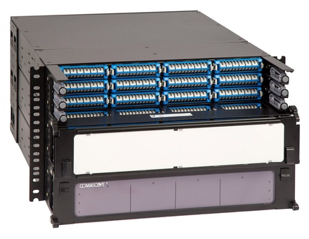 Панель под сварку UDS 36 модулей UDS по 12 Duplex LC UPC ULL, Метод: B Enchanced, Высота: 2RU, цвет: чёрный