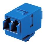 Гнездо SL-типа-соединитель LC Duplex SM/MM, цвет: синий
