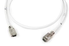 Экранированный претерминированный кабель MRJ21™/MRJ21™ 180 град. Cat.6A 10G, 16 пар AWG 26, изоляция: LSZH, проводники: stranded, длина м: 3