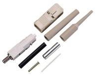 Бесклеевой соединитель LightCrimp Plus SC Simplex, Тип волокна: 50/125 мкм, цвет хвостовика: чёрный
