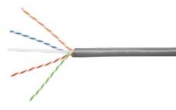 Кабель 4-парный U/UTP Cat.6A, 23 AWG, оболочка: LSZH, EuroClass Dca, диаметр: 7,24, NVP 66%, -20-+60 грд, цвет: серый, уп.: катушка 305 м