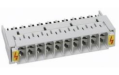 Магазин для разрядников для 10-парных плинтов LSA-PLUS®