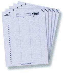 Самоклеящиеся этикетки для абонентских розеток (50х10мм), Кол-во на листе: 72, уп.: 5 листов (360 этикеток) (цена за шт.)