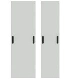 Комплект дверей для шкафа FACT™ в конфигурации cross-connect. Комплект: 2 двери, 2 ручки на каждой двери совместимые с замками по DIN 18252 (EN 1303), замки не включены