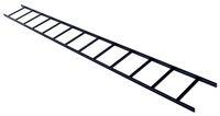 Лестничный лоток ширина мм: 305, длина мм: 3048, цвет: чёрный