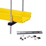 FiberGuide® Existing Rack Center Support Bracket Kit, 14 mm for 4 x 12 System