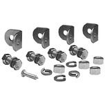 "FiberGuide® Adjustable Angle Support Bracket Kit, with 5/8"" - 11 x 36"" threaded rod"
