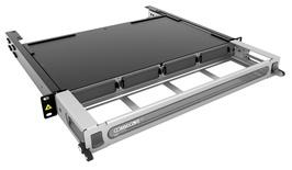 Выдвижная коммутационная панель Systimax High Density 1RU для установки до 4 пигтейл-кассет G2, до 48 LC Duplex, с фронтальным кабельным органайзером. Возможна установка кассет для поддонов, поддонов RoloSpice и стекируемых поддонов