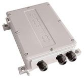 PoE Extender - 1-портовый 60Вт, комбинированный преобразователь среды передачи и питания, уличный, 12 Vdc с возможностью транзитной прокладки оптического кабеля