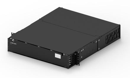 Модульная выдвижная коммутационная панель SYSTIMAX® CHD, до 24 модулей CHD ULL (до 144 LC Duplex или MPO), Высота: 2RU, цвет: чёрный