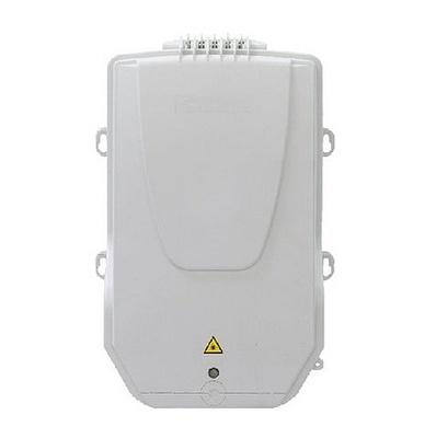 Настенный оптический монтажный бокс серии BUDI, 12 LC/APC адаптеров и пигтейлов, с замком, single circuit FIST™-поддоны до 16 SMOUV-гильз