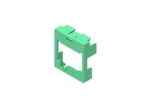 Маркерная насадка для гнезда AMPTWIST SLX, цвет: зелёный, уп.: 50