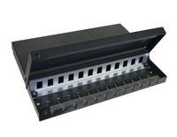 Точка консолидации до 12 гнёзд SL-типа, Размеры (мм): 235x245x40