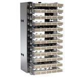 Открытый настенный кросс Highband 12 модулей по 20 пар Cat.6A, типа кабеля: 26-22AWG solid/stranded, контактная группа: LSA-PLUS