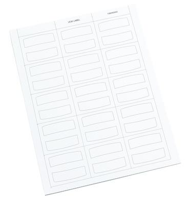 Лист 30 этикеток для маркировки LE30 LabelS
