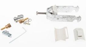 Внешний фиксатор кабеля С-типа для шкафа FIST™ GR2/3 для 2 кабелей диаметром 22-28 mm