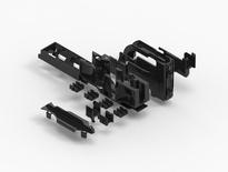 Cable Termination Unit (CTU) для шасси  FACT™ высотой 1HE для терминирования: 1 кабеля 2.5-14 мм, 2 кабелей 2.5-8.5 мм, 4 кабелей 2.5-5 мм, или одной гибкой трубы 16 мм