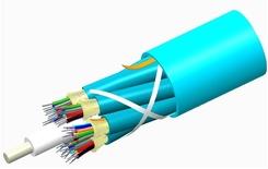 Внутренний оптический кабель, кол-во волокон: 36, Тип волокна: ОМ3 LazrSPEED® 300 буфер 900мк, Конструкция: ODC 3x12 Tube с диэлектрическим силовым элементом, Изоляция: OFNP, Диаметр: 13,53 мм, -20 - +70 град., Цвет: бирюзовый