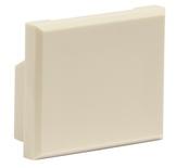 Заглушка порта для розеток M-серии M21A, цвет: ivory
