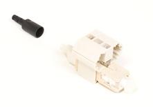 Соединитель OptiSPEED® Fiber Qwik II-SC Connector™ MM, для быстрой установки, цвет: бежевый