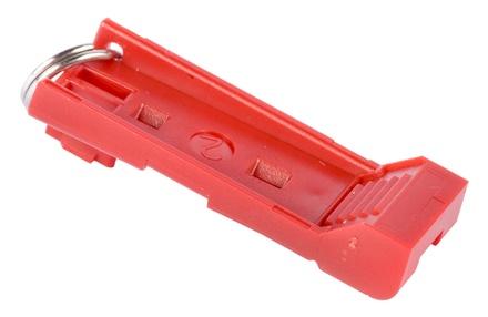 Инструмент для изъятия коммутационного шнура из гнезда LCD , цвет: красный, уп.: 5