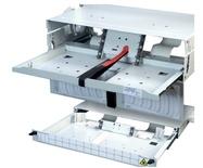 Панель серии FIST-GPS2 для шкафов FIST GR3 выдвижная, поддонов GPST: до 2, высота: 1RU, цвет: серый