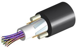 Кабель внешней прокладки, Кол-во волокон: 36, Тип волокна: G.652.D and G.657.A1, TeraSPEED®, Конструкция: центральная трубка с гелем, 2 диэлектрических прутка Rigid RSM, изоляция: PE, диаметр: 12,1 мм, -40 - +70 град. С, цвет: чёрный