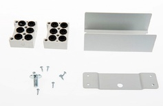 Фиксатор кабеля для шкафа FIST™ GR2/3 для 2 OSP кабелей с центральным силовым элементом для монтажа в боковом кабельном канале (used to spread (ribbon) fibers over several tubes)