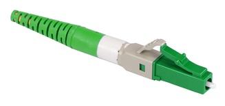 Бесклеевоё разъём Qwik-Fuse, Интерфейс: LC, Волокно: SM-APC, на кабель 1.6/2.0 mm, Цвет: Зелёный, уп-ка: 12