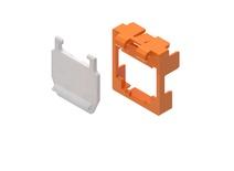 Маркерная насадка для гнезда AMPTWIST SLX с пылезащитной крышкой, цвет: оранжевый, уп.: 50